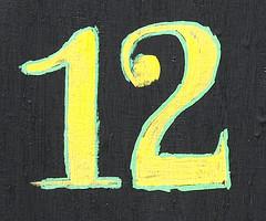 Signification du nombre 12 for Peur du nombre 13