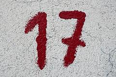 Signification du nombre 17 for Nombre 13 signification