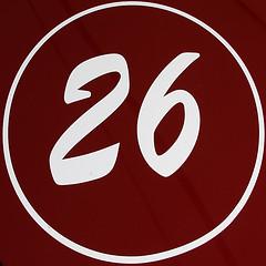 signification du nombre 26
