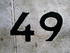 Signification du nombre 49 for Signification du chiffre 13